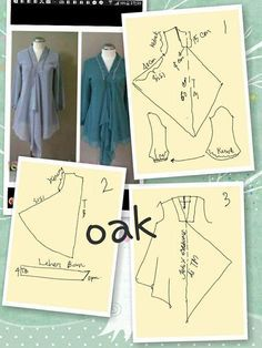 Discover thousands of images about Loose tunic dress Blouse Patterns, Clothing Patterns, Sewing Patterns, Batik Fashion, Fashion Sewing, Pattern Cutting, Pattern Making, Model Kebaya, Sewing Blouses