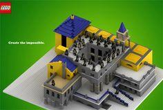 LEGO | 錯覚を利用した広告