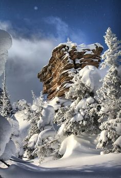 Vishera Nature Reserve, Perm, Russia #travel #Adventure #Mountains #Snow #Winter #Russia