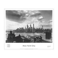 Samuel H. Gottscho: Financial District, From the Hotel Bossert Poster