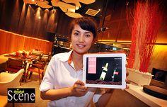 Creative Cuisine and iPads at Crave, Aloft Hotel, Bangkok. Words and photos by Paul Hutton, Bangkok Scene.