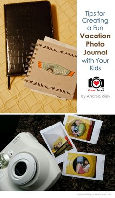 Create a Fun Vacation Photo Journal with Your Kids