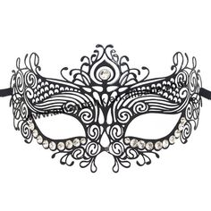 Masquerade Mask Template Mask Pinterest Silk, Rhinestones - 700x700 - jpeg