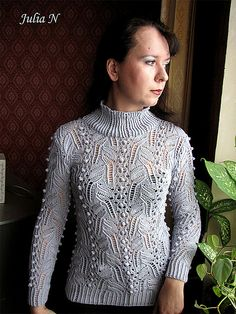 Ravelry: Project Gallery for p.39 Winter Knit Pullover pattern by Hitomi Shida (志田 ひとみ)