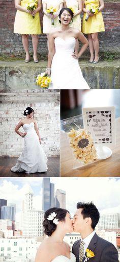 Seattle Wedding by Angela & Evan Photography   The Wedding Story