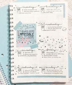 ¿Buscas ideas para hacer tu bullet journal? Descubre esta inspiración para crear un bullet journal y encuentra un estilo personal de bullet journal para ti.