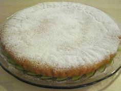 Lemon Cream Tart - Limon Kremalı Tart - Torta alla Crema di Limone