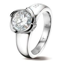 Joop Womens Ring Virginia Silver 925 JPRG90456A