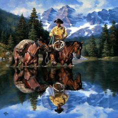 Jack Sorenson - Reflections Of The Rockies