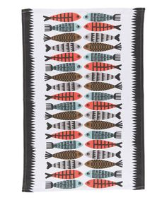 Love this Fishies Dish Towel on #zulily! #zulilyfinds