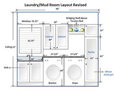I Really Like Most Of This Layout As My Laundry Room Is Our Main Entrance.