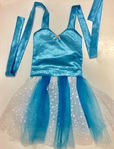 ELSA COSTUME   Elsa Dress   Dress Up Apron   Disney Frozen Inspired   Elsa  Birthday   Toddler Elsa Dress   Frozen Birthday Party   Princess