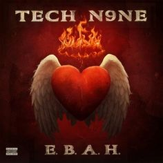 The release of Tech N9ne's E.B.A.H. stirred the web from its first announcement as fans did their best to decipher the EP's cryptic title.    For weeks, the anticipation had fans guessing every name they could and while many came close, in the end, Tech N9ne was the one to reveal its true meaning: Evil Brain Angel Heart. Shrouded in mystery, could E.B.A.H. signal another evolution in Tech N9ne's sound?    Some fans certainly seem to think so. Click to see what people are saying!