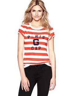 Waldo Halloween option Paris striped T | Gap