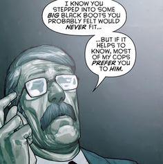 the GCPD prefer Dick as Batman :P