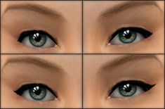 Mod The Sims - Just a Touch: Eyeliners