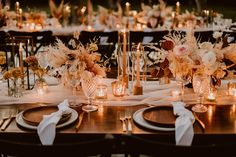 Pink and pampas Cabo wedding at Acre Baja - 100 Layer Cake Reception Table Decorations, Wedding Reception Tables, Wedding Table Settings, Wedding Reception Decorations, Decor Wedding, Wedding Ideas, Wedding Desert Table, Country Wedding Colors, Grass Centerpiece