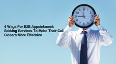 4 Ways For B2B Appoi
