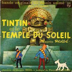 Tintin et le temple du soleil - B.O.F.  dessin de HERGÉ