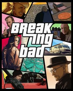 Great series Great game as Poster Breaking Bad Tv Series, Breaking Dad, Breaking Bad Art, San Andreas Gta, Anne With An E, Bad Memes, Walter White, Film Serie, Cultura Pop
