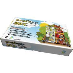 """Conception Azzura Lights®. Ecology Box®, un outil ludique et pédagogique au service du projet """"Energie durable pour Tous"""" ™. Conception Azzura Lights made in Région PACA.© Azzura Lights - Tous Droits réservés."""