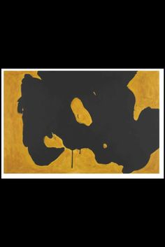 "Robert Motherwell - ""Near the Edge"", 1986 - Acrylic on canvas - x cm… Robert Motherwell, Helen Frankenthaler, Inspiring Art, Large Wall Art, American Artists, Contemporary Artists, Abstract Art, Collage, Paintings"
