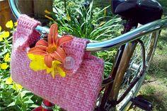 Ravelry: Crochet Bicycle Basket pattern by Janet Spirik♪ ♪ ... #inspiration_crochet #diy GB