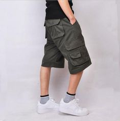 26feff8a3c Mens Military Cargo Shorts 2017 Brand New Army Casual Shorts Men Cotton  Loose Work Casual Short