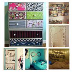 Cute DIY bedroom ideas:)