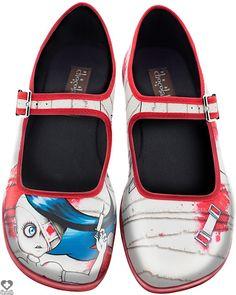 Hot Chocolate Shoes - Horror Lolita - Buy Online Australia Beserk