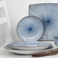 12 Small Sendan Plates - by Tokyo Design Studio #MONOQI