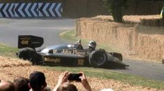 Ayrton Senna: Crash Lotus F1 98t Goodwood