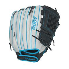 Wilson A800 Aura Fastpitch Softball 12in Pitcher-IF Glove-LH
