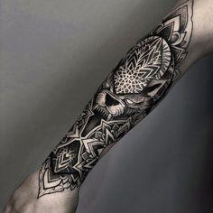 198 Me gusta, 3 comentarios - Идеи татуировок ( . Full Arm Tattoos, Hand Tattoos For Guys, Leg Tattoos, Body Art Tattoos, Tribal Tattoos, Forarm Tattoos, Cool Forearm Tattoos, Forearm Tattoo Design, Tatoos