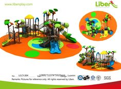 Commercial Outdoor Park Playground Equipment
