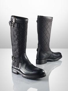 Ralph Lauren Men\'s Pull-On Boot   Shoes   Pinterest   Motorcycle boots