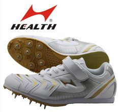 Free Shipping HEALTH Long-jump shoes  track and field spikes jumping shoes running spikes 633 $45.85