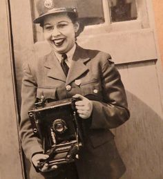 Lou Marr of Daysland, Alberta was a naive farm girl when she joined the RCAF Women's Division in 1943 and trained as a photographer.