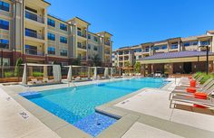How relaxing does this look on a hot day in #Georgia? The Mille Brookhaven allows for living spaces that flow seamlessly into the grand wraparound balconies and terraces that expand living and entertaining to the #outdoors. We invite you to relax in the #pool and enjoy free Wi-Fi in our common areas.