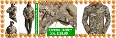 Outdoor Sports Waterproof Warm Polyester Jacket for Men - Camouflage (XXL) from 89,= for Euro 35,85