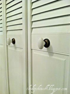 DIY Project Parade: Closet Doors - How to Turn BiFold Doors into French Doors   DIY Show Off ™ - DIY Decorating and Home Improvement Blog