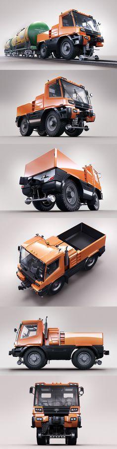 TMV2 Multifunctional Rail Truck on Behance