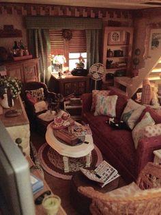 My miniature cottage living room