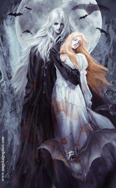 fantasy vampires - Page 8 Dark Fantasy Art, Fantasy Kunst, Fantasy Artwork, Fantasy World, Dark Art, Art Vampire, Vampire Love, Character Inspiration, Character Art