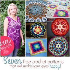 Seven Free Crochet P