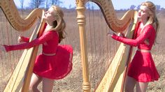 MY IMMORTAL (Evanescence) Harp Twins - Camille and Kennerly ~ THE MOST BEAUTIFUL MUSIC I'VE EVER HEARD . . .