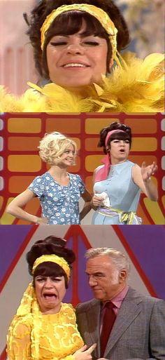 Jo Anne Worley with Goldie Hawn & Lorne Greene on Rowan & Martin's Laugh-In
