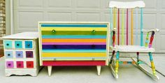 painted upcycled furniture - Google Search