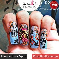 Congratulations, Priya @NailsByPriya! You are now a Pacesetter for @scra2ch Free Spirit Challenge. #scra2chchallenge