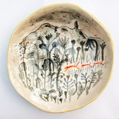 It was then that I found illustration, and ceramics went hand in hand pretty well. Creating objects from scratch to firing and decorating, the whole process ...